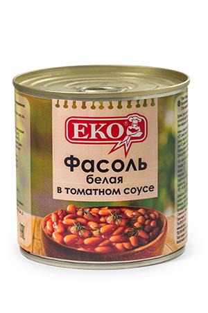 White beans in tomato sauce