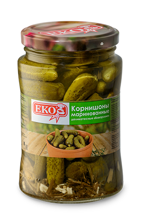 "Gherkins marinated gourmet ""Bavarian"""