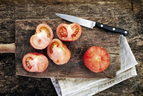 How to peel tomatoes?
